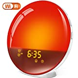 LATME G-1 White Sunrise Alarm Clock