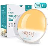 HeimVision A805 Sunrise Alarm Clock With Smart Wake Up Features
