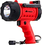 NoCry 18W Waterproof Rechargeable Flashlight and Spotlight