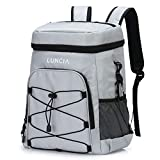 LUNCIA 33can Collapsible Cooler Bag Leakproof Cooler Backpack