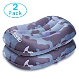 SUKCESO Camping Pillows Inflatable Travel Pillow Two Pack