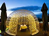 FoamMaker Inflatable Transparent Bubble Tent