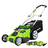 Greenworks Twin Force Cordless Lawn Mower