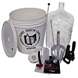 Home Brew Ohio RL-WKZ2-0IJS Gold Complete Beer Equipment Kit (K7) with 5-Gallon Glass Carboy