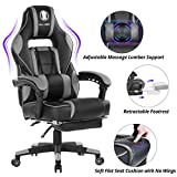 KILLABEE Reclining Memory Foam Racing-Style Gaming Chair