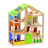 All Seasons Kids Wooden Dollhouse