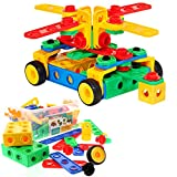 ETI Toys Original 101-Piece Construction Engineering Building Blocks Set