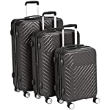 AmazonBasics 3-Piece Expandable Spinner Luggage Set