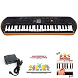 Casio SA76 44 Keys Beginner Keyboard Bundle