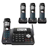 AT&T TL88102 2-line Answering System with 3 Handsets