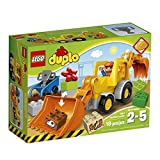 LEGO DUPLO Town Backhoe Loader Construction Toy