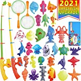 Magnetic Fishing Toys Game Set for Bathtub or Water Table