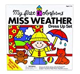 My First Colorforms Miss Weather Dress-Up Set