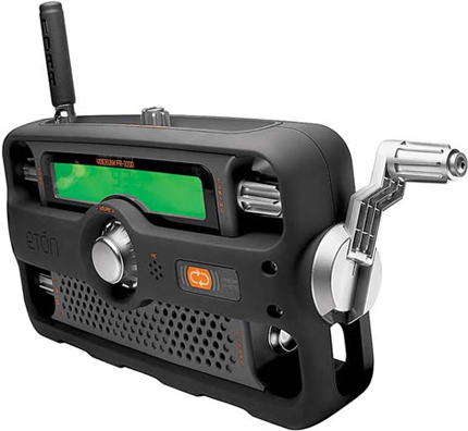Two-way Crank Radio
