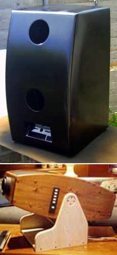DIY widescreen projector