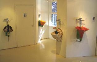 Flower Urinals