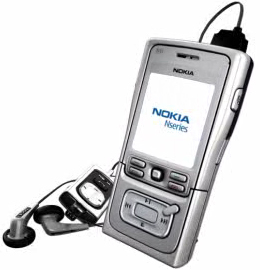 Nokia N61 mobile phone