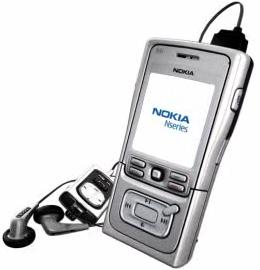 Nokia N61 mobile phone