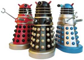 Remote controlled Daleks