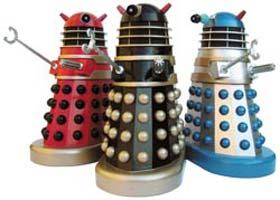 Remote controlled Daleks