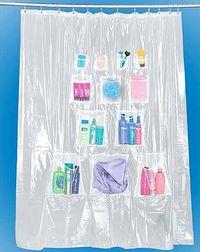 Shower Cutain Pockets