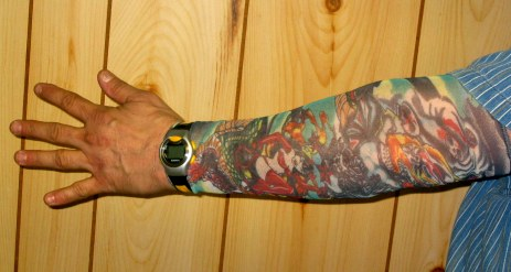 Colored Tattoo Sleeve