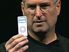 Steve Jobs with an iPod