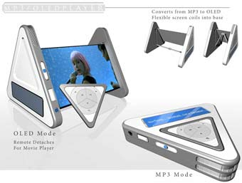 MP3 OLED player