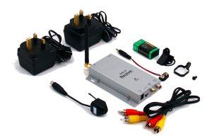 Wireless Bullet Camera Receiver Hardware
