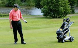 Remote Controlled Golf Caddie