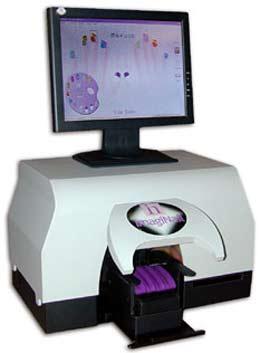 The NailJet printer system