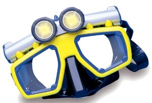 Lighted Swim Mask
