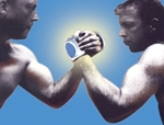 Shocking Arm Wrestling