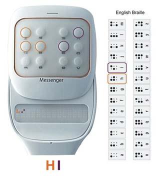 Samsung Touchpad Messenger
