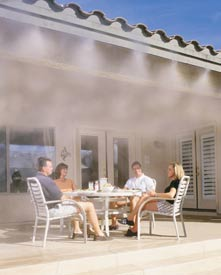 Outdoor Misting System