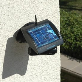 Solar Powered, Motion Sensing Security Camera!
