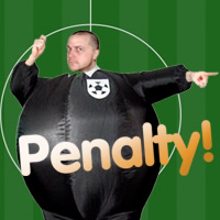 Inflatable Referee Costume