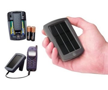 Phone and USB Solar Charger