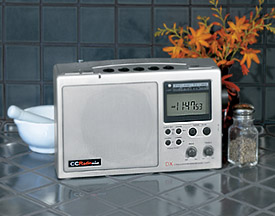 CCRadio Plus - Portable AM-FM-TV-Weather Radio