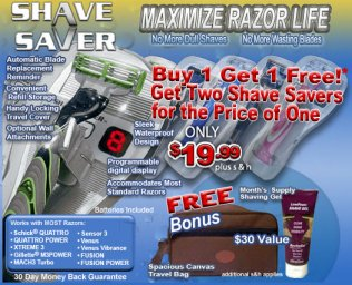 Shave Saver