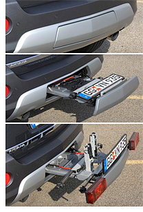 FlexFix Integrated Bike Rack