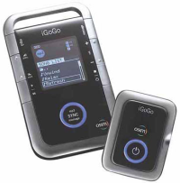 MP3 y masajeador iGoGo de OSIM