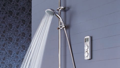 Wireless Shower System
