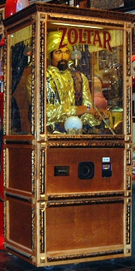 Zoltar the talking fortune teller