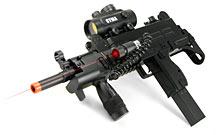 Airsoft Submachine Gun with Laser Sight
