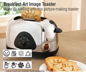 The Breakfast Art Image Toaster
