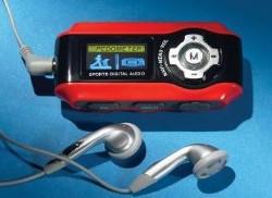 MP3 Player-Pedometer-Radio