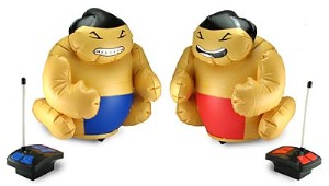 R/C Battling Sumo Wrestlers
