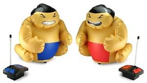 R/C Battling Sumo Wrestlers