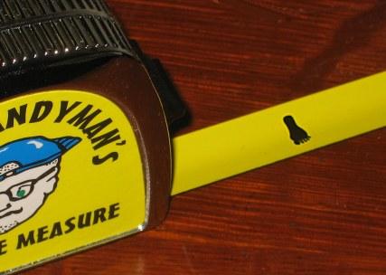 Dumb Tape Measure